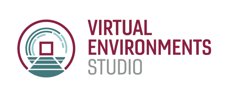 Wayfinding icon for the Virtual Environments Studio